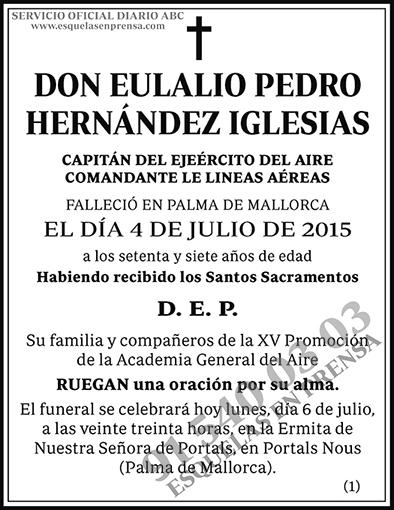 Eulalio Pedro Hernández Iglesias